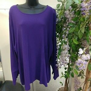 Just My Size L/S Top-4X